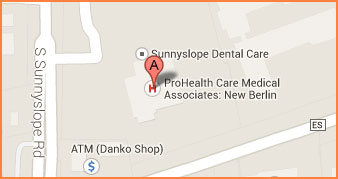 Neurology - ProHealth Care Medical Center, 13900 W. National Avenue, New Berlin, WI 53151